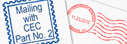 Mailing with CEC - part 2: NCOA