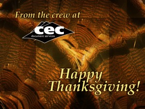 Happy Thanksgiving from CEC
